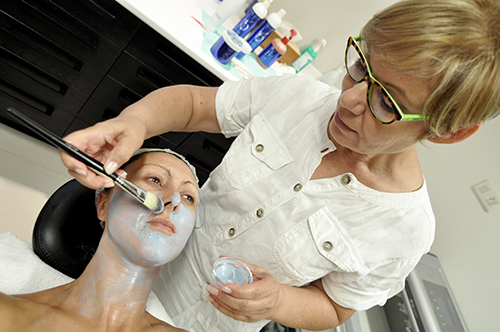 Mascara Biosulfur na Clínica PRIVÉ